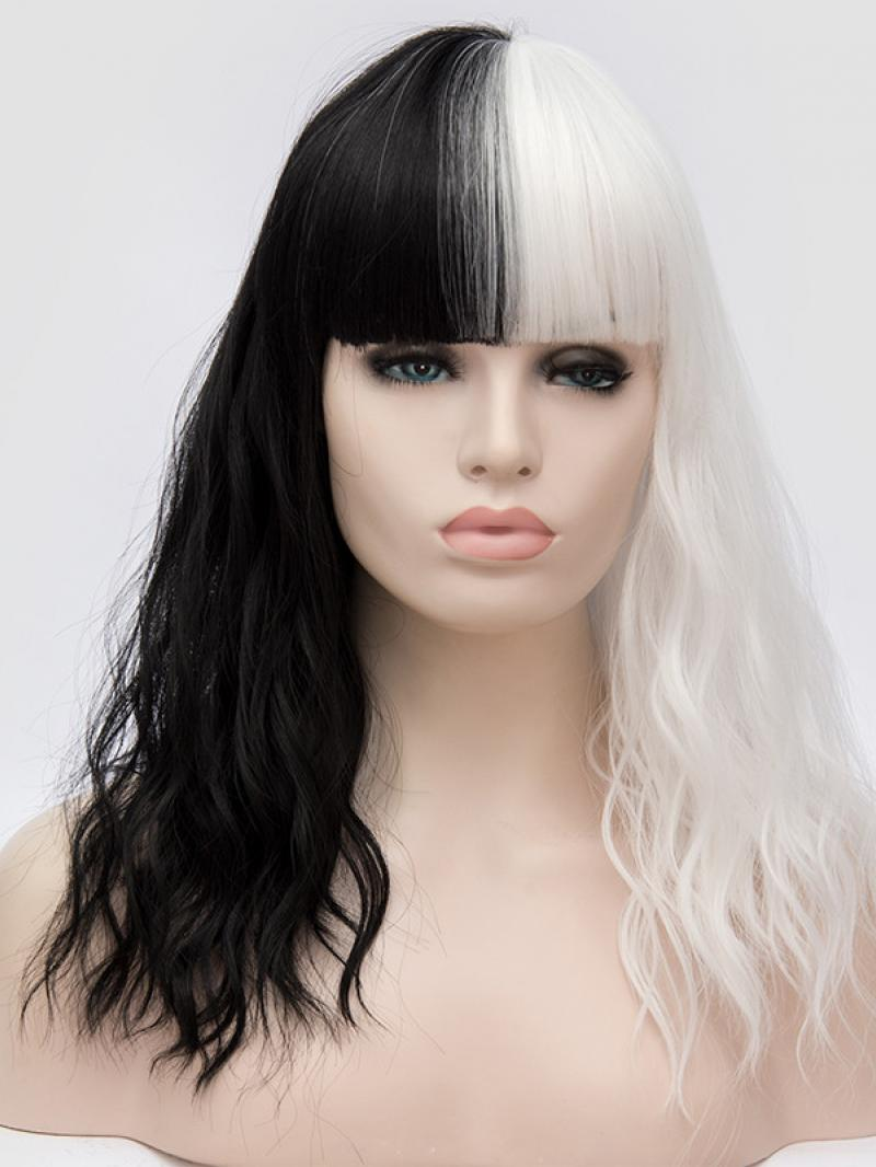 Curly Blue Wig For Sale